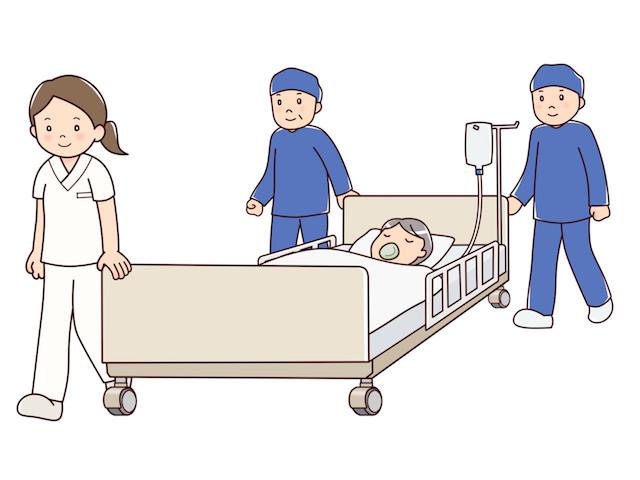 お腹が痛すぎて時間外の病院に、準集中治療室に即入院!
